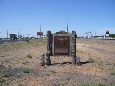 Portales Marker image. Click for full size.