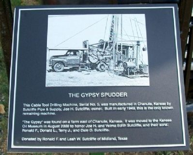 The Gypsy Spudder Marker image. Click for full size.