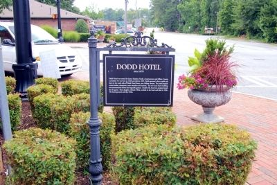 Dodd Hotel Marker image. Click for full size.