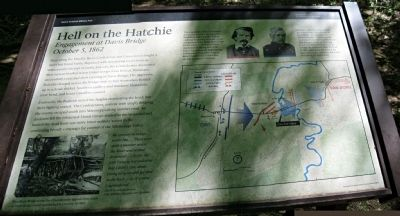 Hell on the Hatchie Marker image. Click for full size.