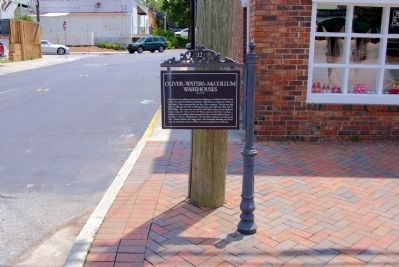 Oliver-Waters-McCollum Warehouses Marker image. Click for full size.