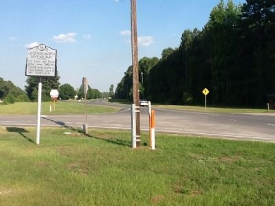 Laurinburg-Maxton Air Base Marker image. Click for full size.