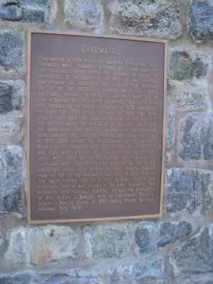 Casemates Marker image. Click for full size.