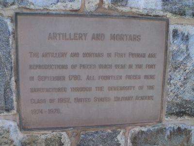 Artillery and Mortars Marker image. Click for full size.