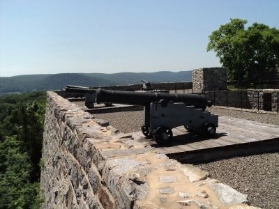 Cannon on the Southeast Parapet image. Click for full size.
