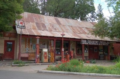 Matlock's Store, Built Circa, 1860 image. Click for full size.
