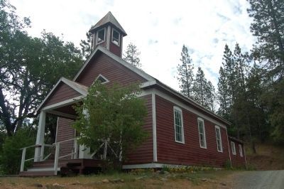 Old Lewiston School House image. Click for full size.