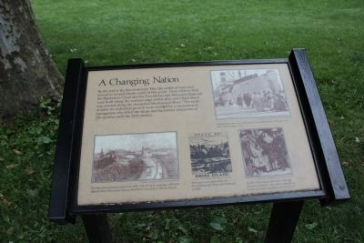 A Changing Nation Marker image. Click for full size.