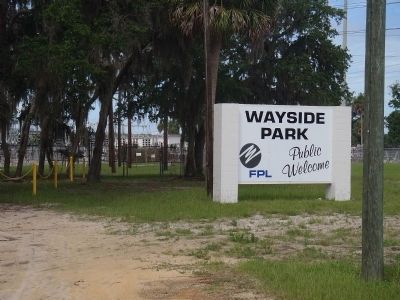 The wayside park sign. image. Click for full size.