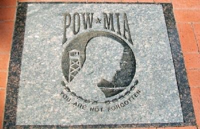Celebration of Freedom Memorial POW-MIA image. Click for full size.