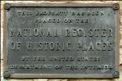 Grace Episcopal Church National Registry Plaque image. Click for full size.