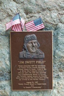 """Jim Sweet Field"" Marker image. Click for full size."