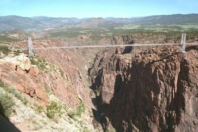 Bridge over the Royal Gorge image. Click for full size.