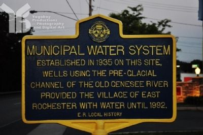 Municipal Water System Marker image. Click for full size.