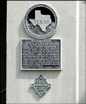 Hutchings House Marker image. Click for full size.