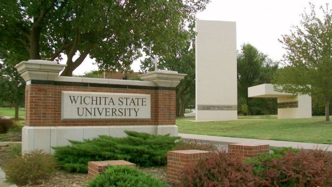 Memorial '70 at Wichita State University image. Click for full size.