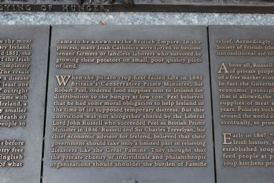 Rhode Island Irish Famine Memorial Marker 2 of 10 image. Click for full size.