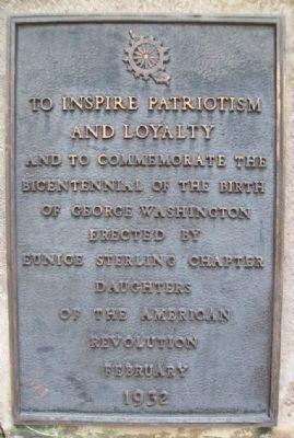 Bicentennial of the Birth of George Washington Marker image. Click for full size.
