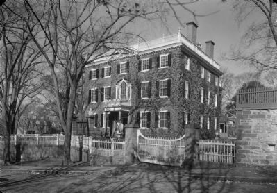 John Brown House (1937), image courtesy of the Historic American Buildings Survey image. Click for full size.