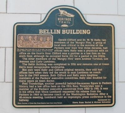 Bellin Building Marker image. Click for full size.