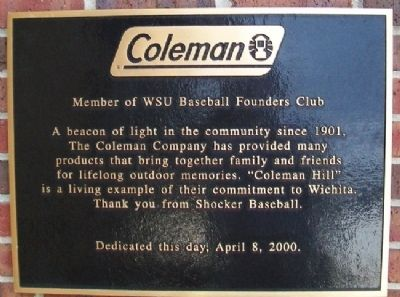 Coleman Marker image. Click for full size.