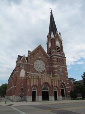 St. Willebrord Catholic Church image. Click for full size.