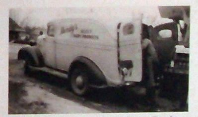 "Marker Photo - - "" Handy&#39;s Dairy<br> Vintage Delivery Truck - 1939 "" image. Click for full size."