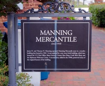 Manning Mercantile Marker image. Click for full size.