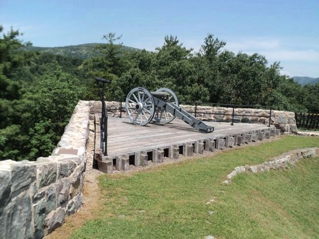 Artillery in Fort Putnam image. Click for full size.