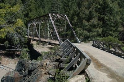 Slate Creek Bridge image. Click for full size.