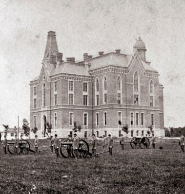 Indiana Asbury - DePauw University -and- The Civil War image. Click for full size.