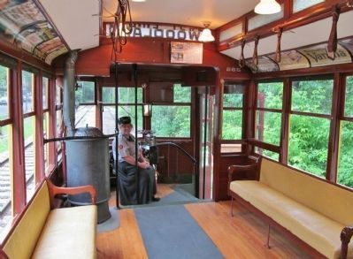 Inside Como–Harriet Streetcar 265 image. Click for full size.