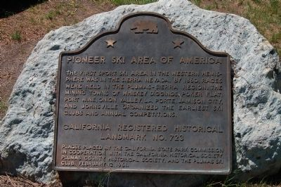 Pioneer Ski Area of America Marker image. Click for full size.