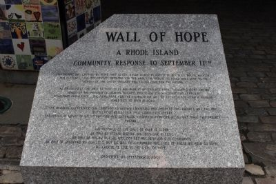 Wall of Hope Marker image. Click for full size.