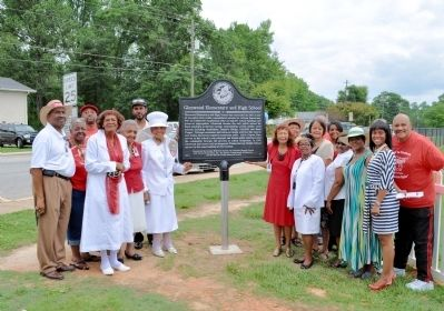 Glenwood Elementary and High School Marker Dedication image. Click for full size.