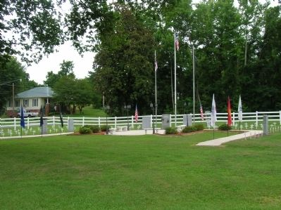 Richmond County Veterans Memorial image. Click for full size.