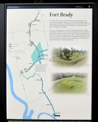 Fort Brady (right panel) image. Click for full size.
