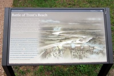 Battle of Trent's Reach Marker image. Click for full size.