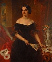 Anna Maria Calhoun<br>February 13, 1817 - September 22, 1875 image. Click for full size.
