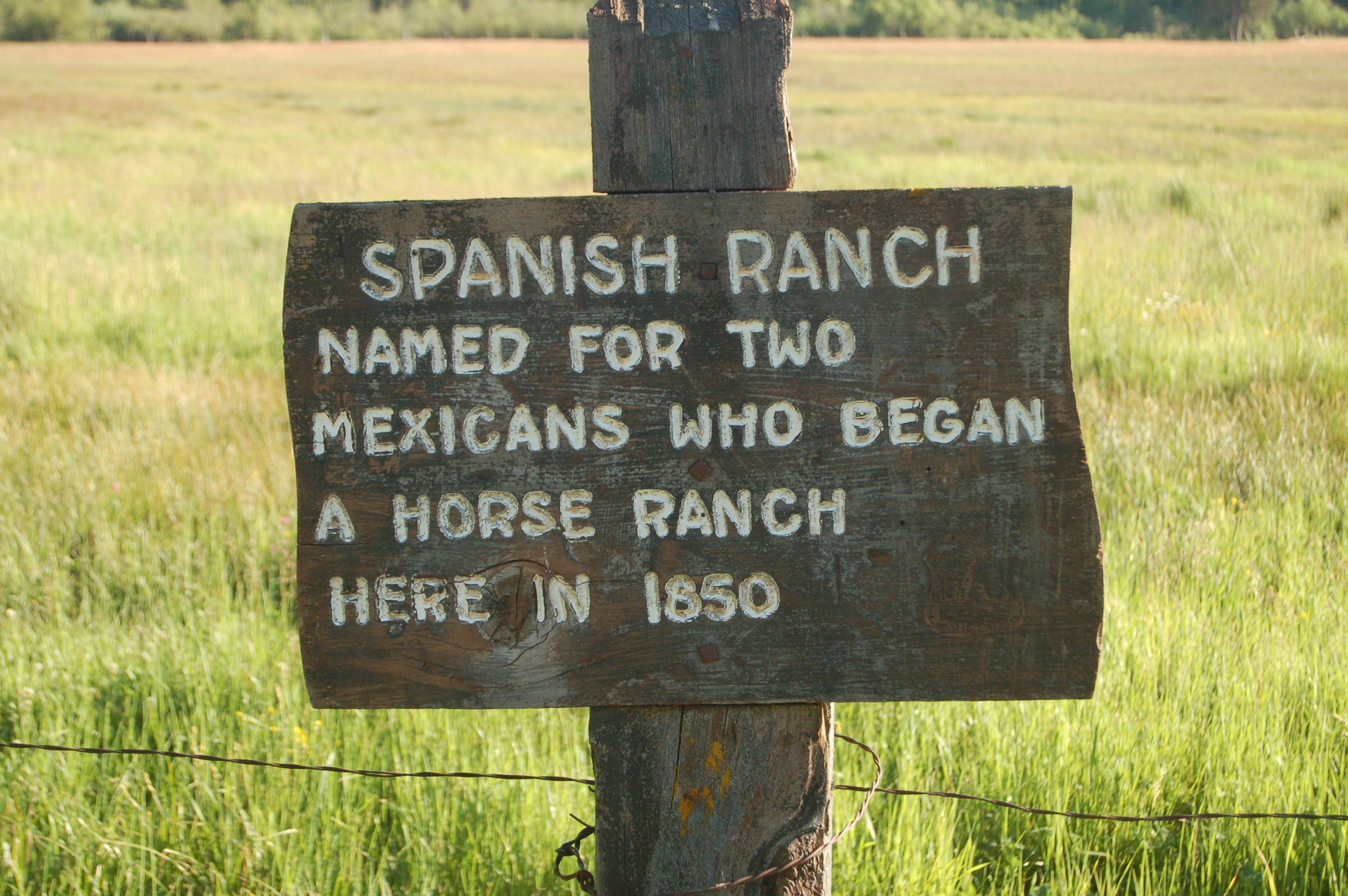 Spanish Ranch Marker