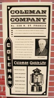 Coleman Company Marker image. Click for full size.