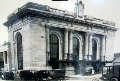 Union Station Photo on Marker image. Click for full size.