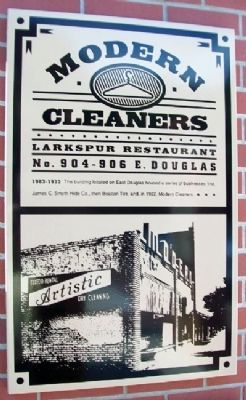 Modern Cleaners Marker image. Click for full size.