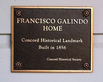 Francisco Galindo Home Marker image. Click for full size.