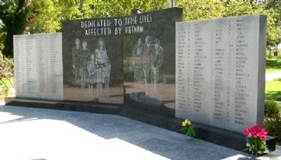 Vietnam War and Homefront Memorial image. Click for full size.