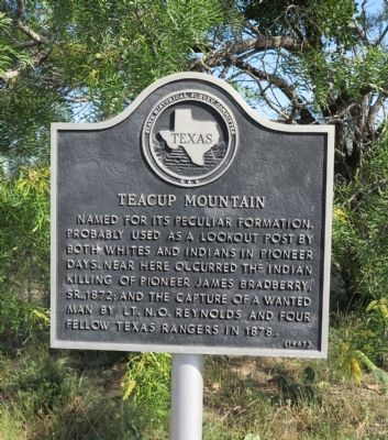 Teacup Mountain Marker image. Click for full size.