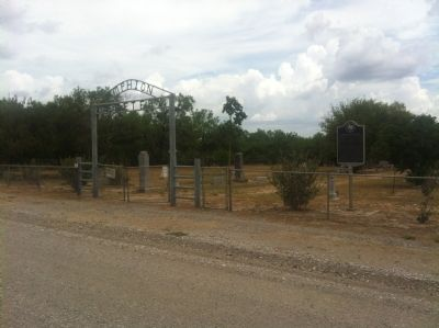 Amphion and Amphion Cemetery Marker image. Click for full size.
