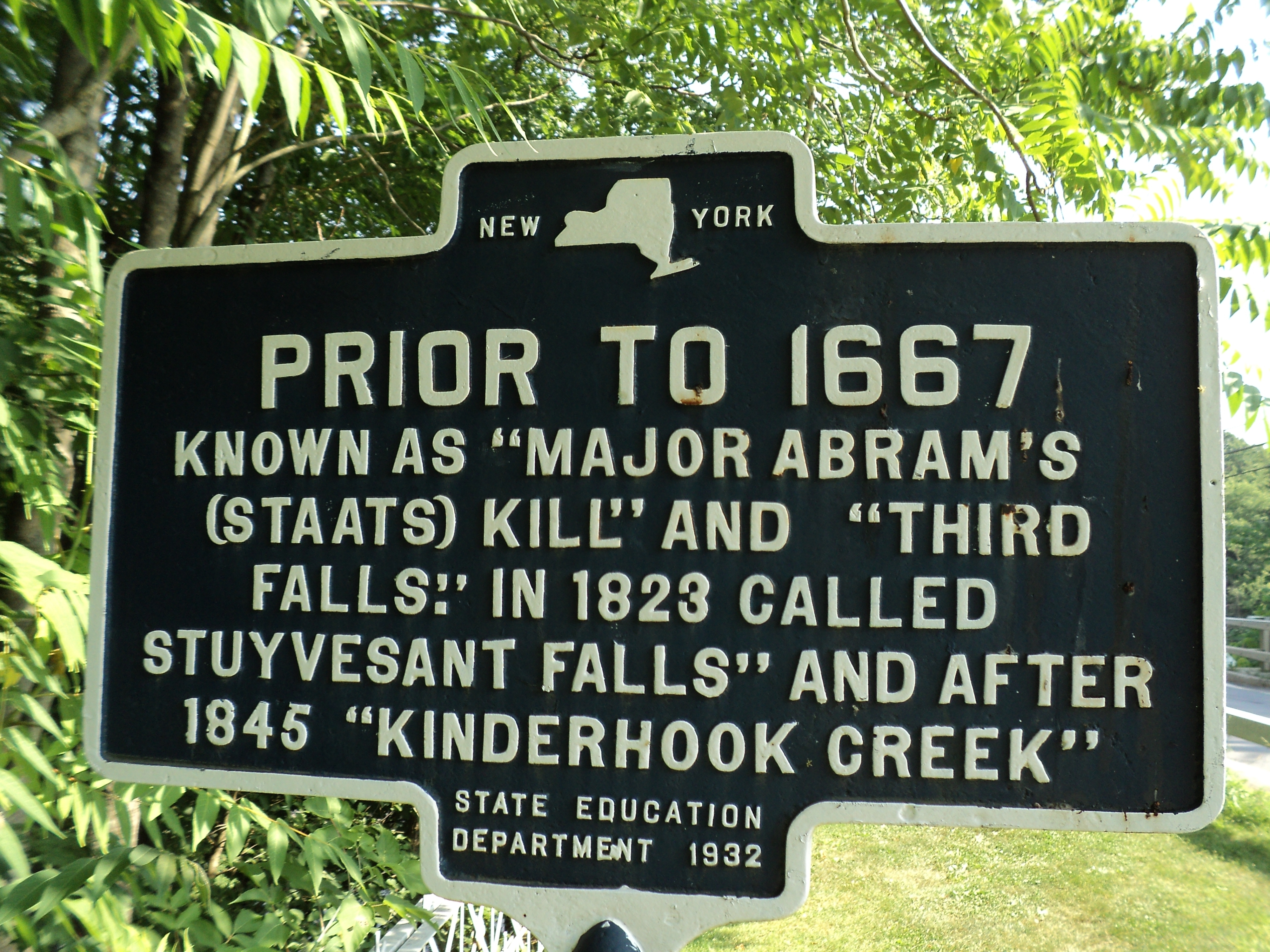 Kinderhook Creek Marker