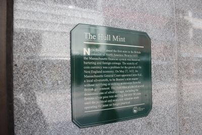 The Hull Mint Marker image. Click for full size.