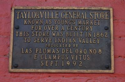 Taylorville General Store Marker image. Click for full size.